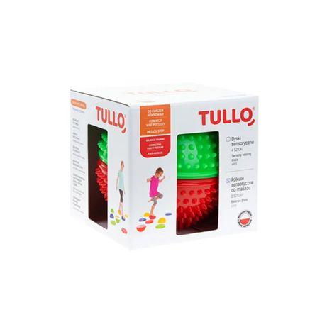 Zabawki antystresowe TULLO Półkula sensoryczna do masażu ćwiczeń 2szt.