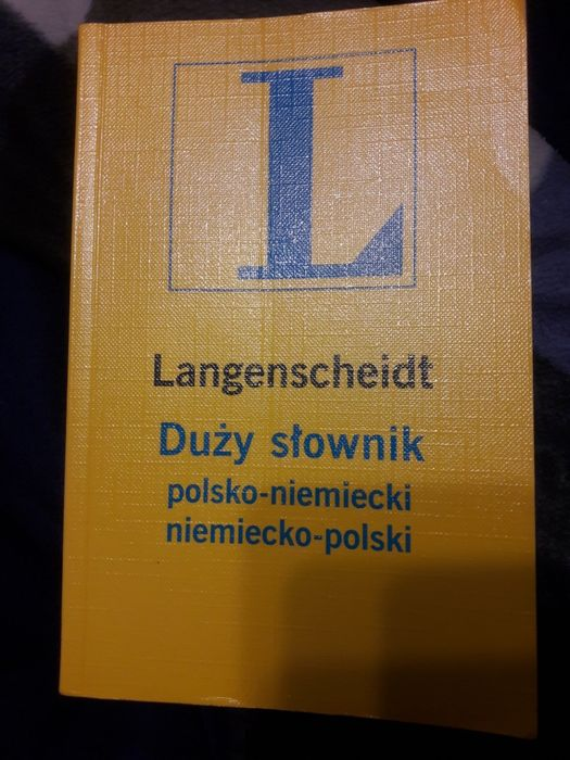 Duży slownik polsko-niemiecki niemiecko polski Jelenia Góra - image 1