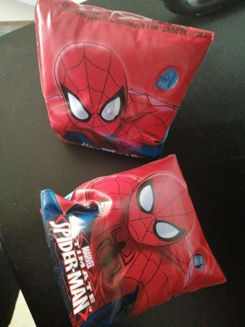 Braçadeiras Spider Man como novas