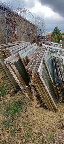 Okna drewniane podwójna szyba na szklarnie inne