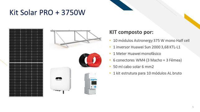 Kit Solar Fotovoltaico 3750W