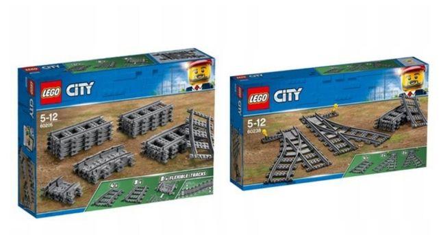 Lego City Tory 60205 + Zwrotnice 60238 do 60198 i 60197 Wys24