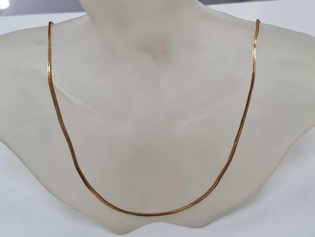 Wyjątkowy złoty łańcuszek damski/ 750/ Lisi Ogon/ 8.29 gram/ 60cm