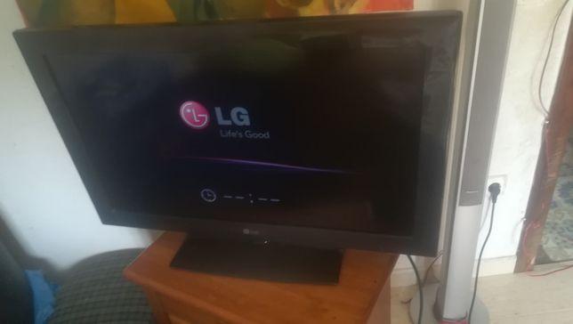 Vendo plasma LG novo (modelo 32LD450)