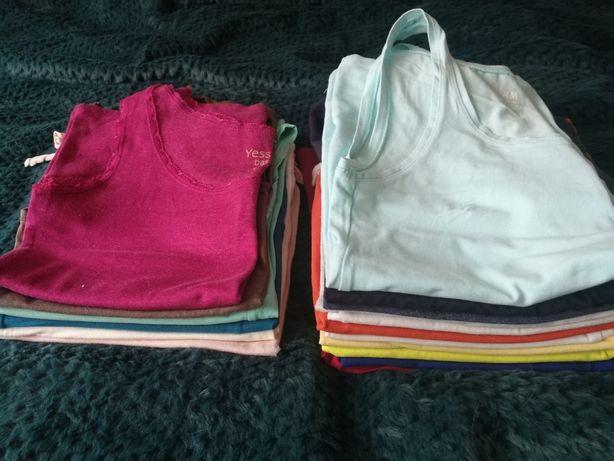 17 sztuk topów, koszulek- stan b. dobry