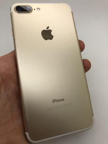 Apple Iphone Айфон 7 + plus 32GB Gold - треснутое стекло