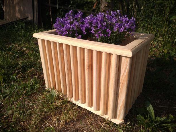 Donica, doniczka drewniana obudowa do doniczki