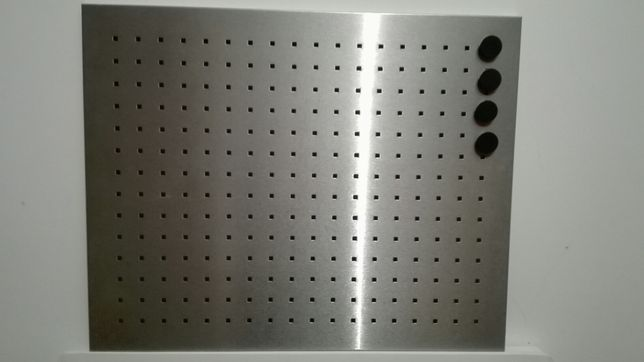 Painel magnético Inox.