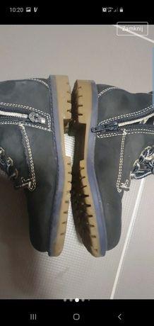 S. Olivier skórzane przejściowe buty 28
