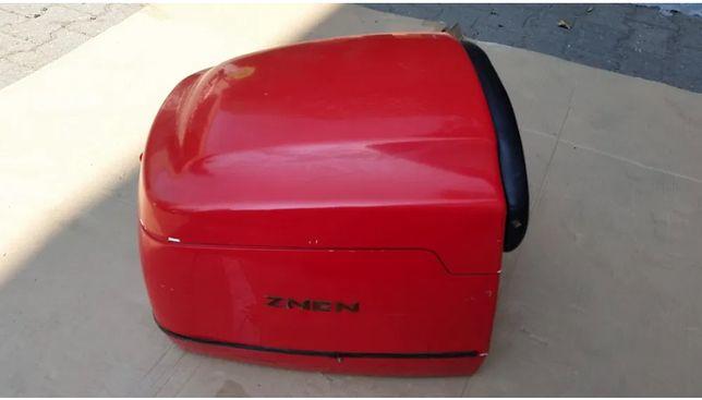 Kufer kuferek schowek na kask znen retro PIZZA - duży kufer