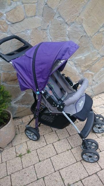 Wózek dziecięcy Baby Design MINI super stan spacerówka fiolet tanio