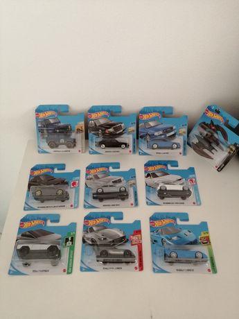 4 Miniaturas Hot Wheels