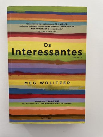 "Livro ""os interessantes"" de meg wolitzer"