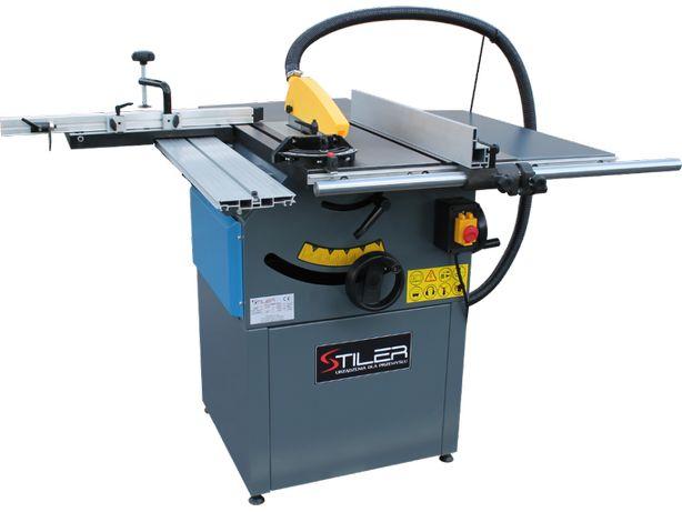 Piła stołowa pilarka tarczowa KRAJZEGA STILER TS250 80mm, FI 254 MM