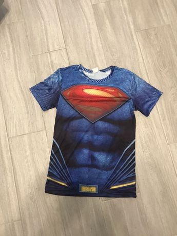 Компрессионная кофта Super Man тренировочная футболка venum ufc