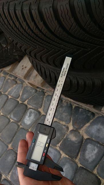 Шины зимние MICHELIN Alpin5 215/65 R17 7.4mm резина колеса зимняя б у