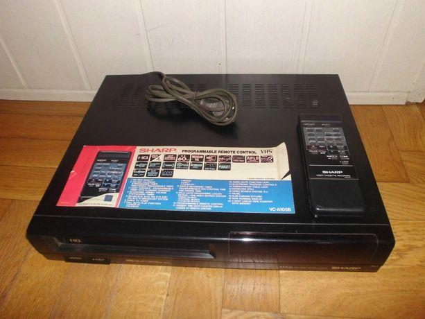 Kolekcjonerskie VIDEO magnetowid SHARP VC-A105B Made in Japan z PEWEX