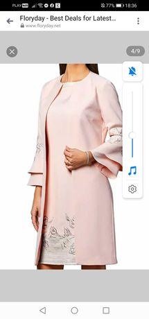 Nowa elegancka sukienka L