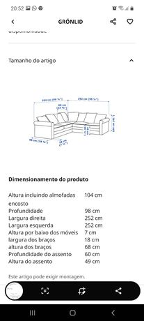 Gronlid sofa canto