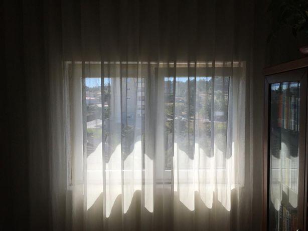 Conjunto cortinas onda T3