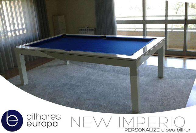 Biilhares Europa Fabricante modelo New Império abertos sábados Dia