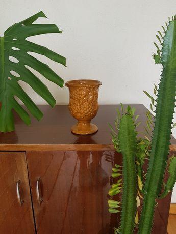 Piękny wazon - kielich PRL vintage
