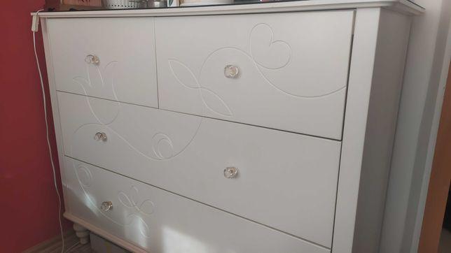 Komoda Ikea duża biała