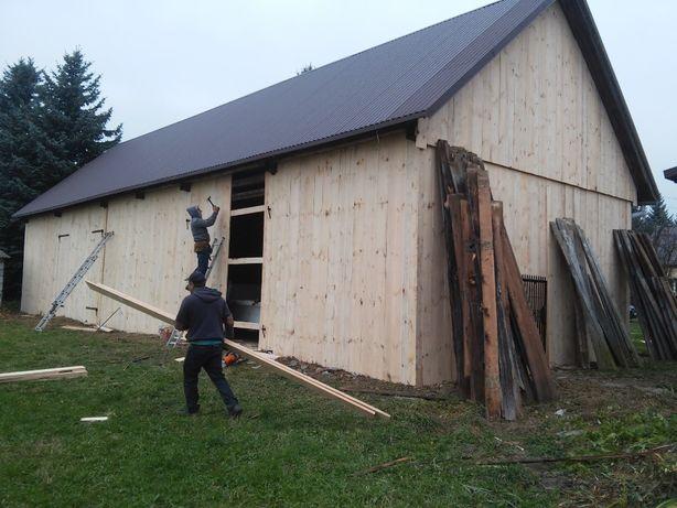 Rozbiórka rozbiórki skup stodół darmowa wymiana desek na stodole