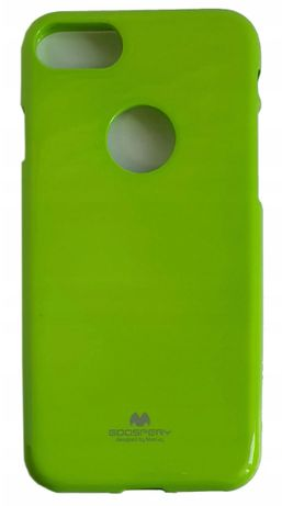 Zielone / Etui / Pokrowiec Jelly Mercury Pearl Jelly Case iPhone 7+