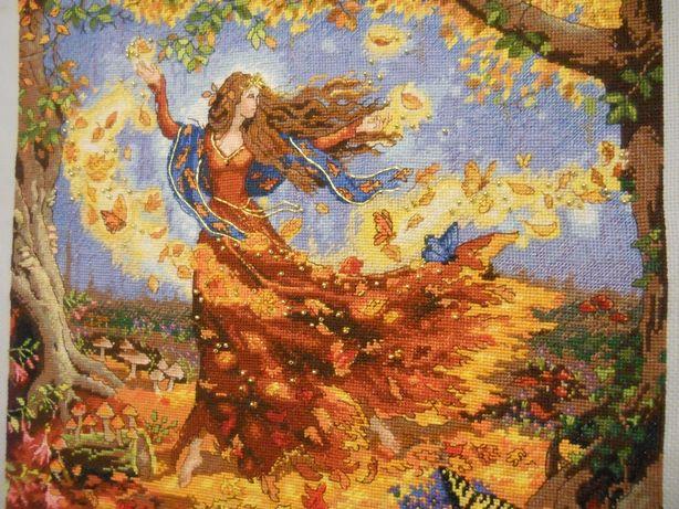 Продам копию схемы Dimensions 35262 Осенняя фея