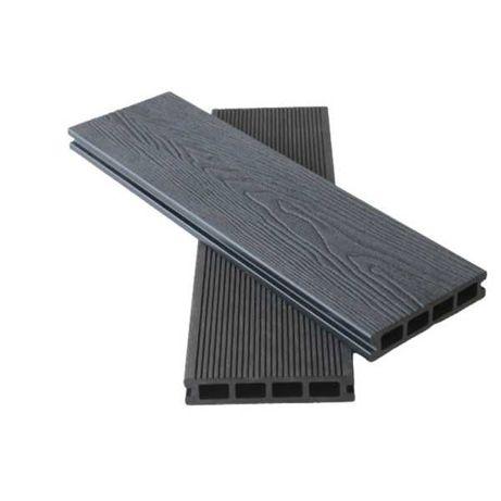 Deska tarasowa kompozytowa drewnopodobna ryflowana odcinki ok 2m tanio