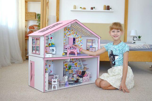 Кукольный домик для Барби ЛОЛ МонстерХай МЕБЕЛЬ И ТЕКСТИЛЬ В ПОДАРОК