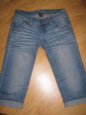 Rybaczki damskie jeansowe - rozmiar L