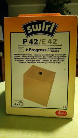 Worki papierowe P 42/E 42 Progres, Tornado, Electrolux Okazja
