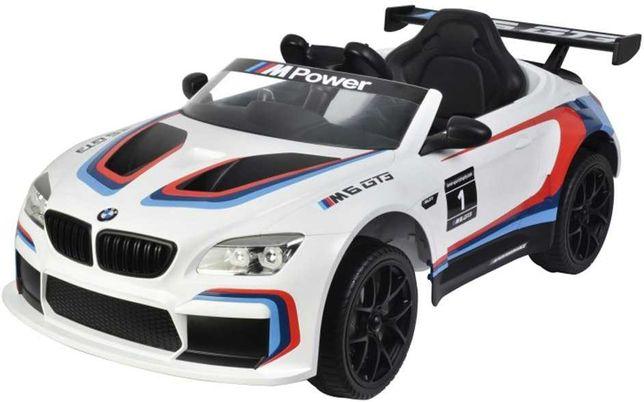 BMW M6 GT3 auto na akumulator dla dzieci z klimą 6666R-M6