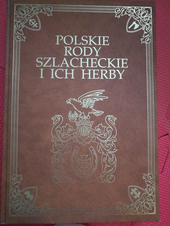 Książka Polskie rody szlacheckie i ich herby