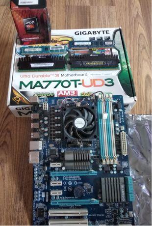 Zestaw AMD FX 6300 + płyta główna + 14 GB RAM