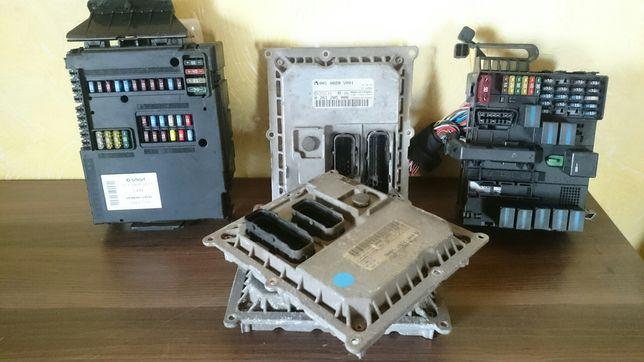 Блок sam мотора комфорту для smart Fortwo 450-451
