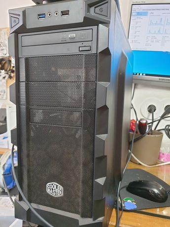 PC Cooler Master CPU i3 + Motherboard ASUS + 8gb RAM + SSD 120Gb