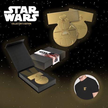 Star Wars Gwiezdne wojny limitowana odznaka