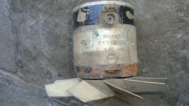 Двигатель МВ-42 одноконтактный постоянного тока