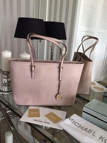 Torebka Michael Kors Nowa Jet Set Medium Soft Pink