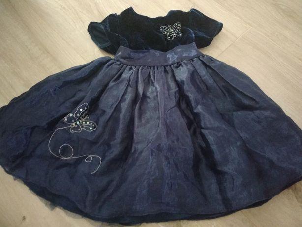 Sukienka wizytowa r.86-92