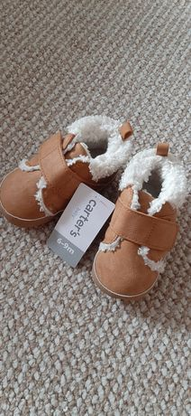 Зимние ботинки пинетки Carter's