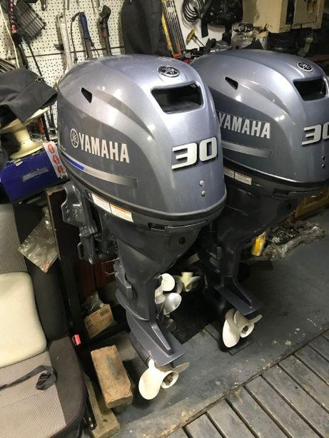 мотор лодочный YAMAHA F 30 2016 год новый