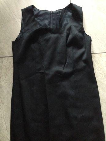 Sukienka czarna wąska L Zara