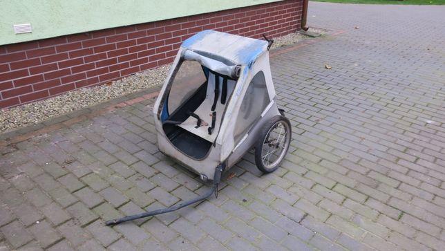 Wózek do roweru przyczepka do przewozu dzieci
