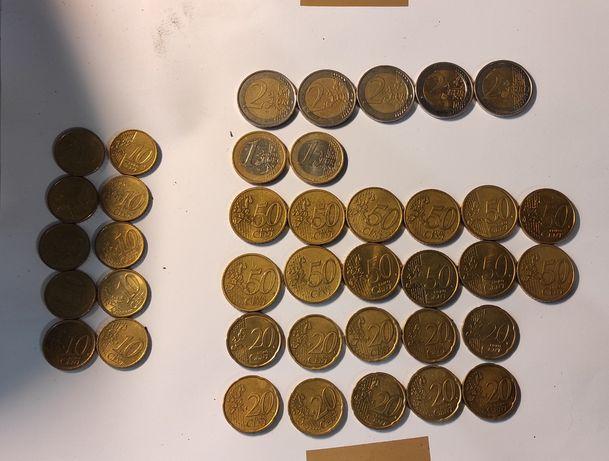 EURO Євроценти Евроценты 1-50цент. 1-2євро евро Польські Злоті1-5,PLN