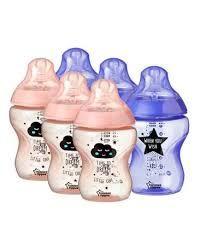 Nowe butelki TOMMEE TIPPEE antykolkowe 260ml kolorki 0+