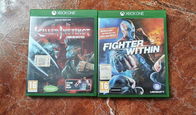 Gdy na Xbox One figter within oraz killer instinct combo